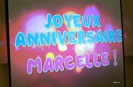 1cent ans pour Marcelle