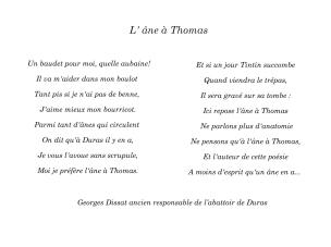 195L'Ane à Thomas