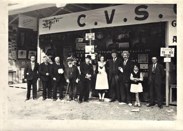 1931 première foire exposition de Marmande Hugues B 2ème à gauche