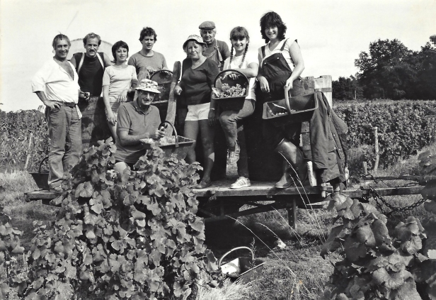1982 Allan et Rosalind Monk 2ème et 3ème gauche jean bireaus 3ème droite