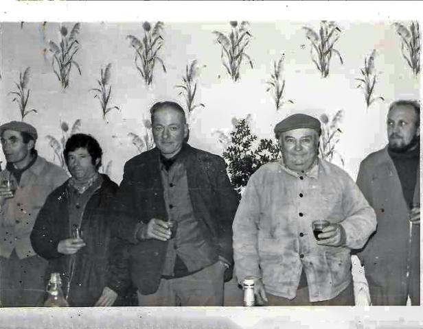 Bédari, Hrénier, H favereau, A L'hopital, J Evrard