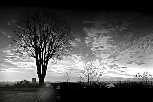 Coucher de soleil autour du château 2
