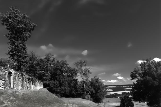 Derrière le Château vers Patau