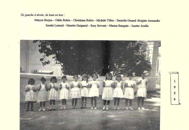 Fête des écoles 1956