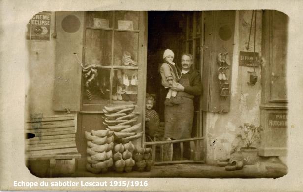 Duras3 échoppe du sabotier Lescaut 1915-1916 copie