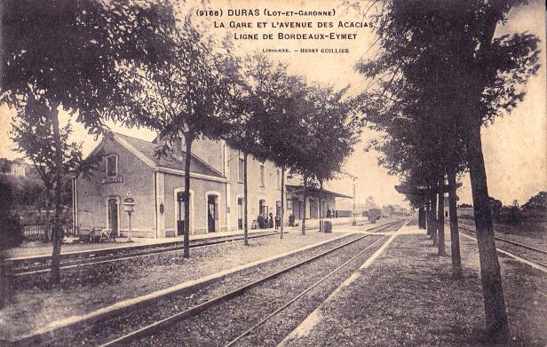 Gare de Duras