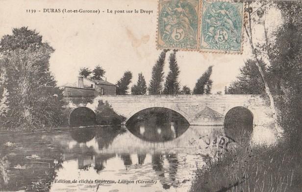 Le Pont neuf et la maison de l'octroi