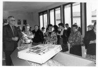 Retraite Mme Lasserre Receveur PTT 1994