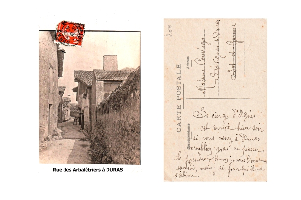 Rue des arbaletriers