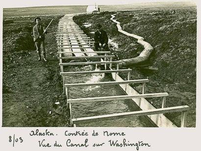 1 Chercheurs d'or en alaska 1903