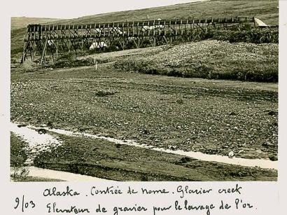 6 Chercheurs d'or en alaska 1903