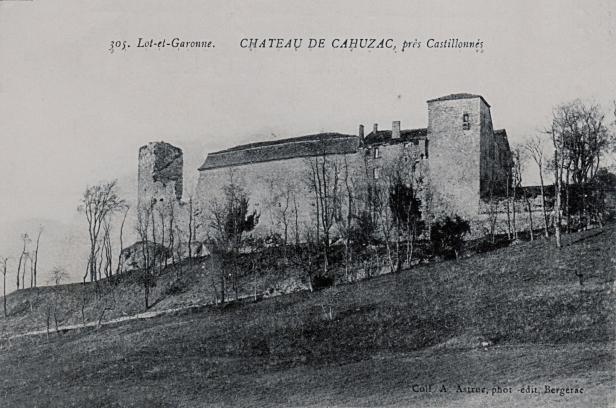Castillonnes_chateau_de_Cahuzac_CP