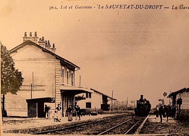La gare de La Sauvetat
