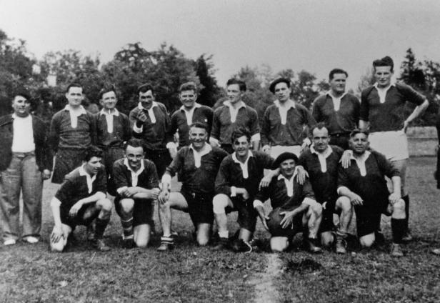 match vétérans 1946 R