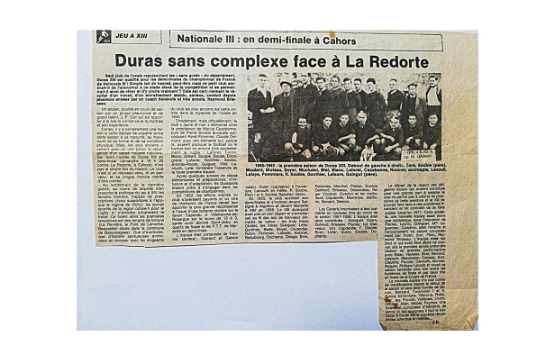 Archives Duras XIII