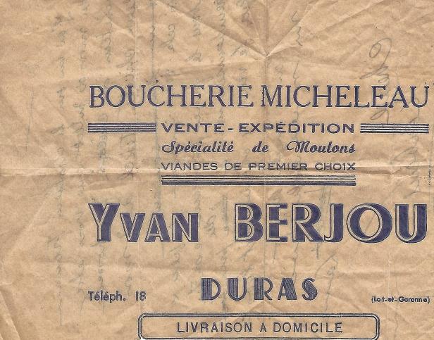 Boucherie BERJOU
