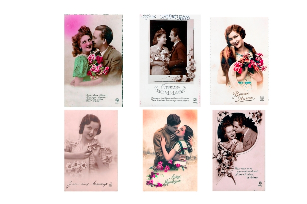 Cartes correspondance années 40:45