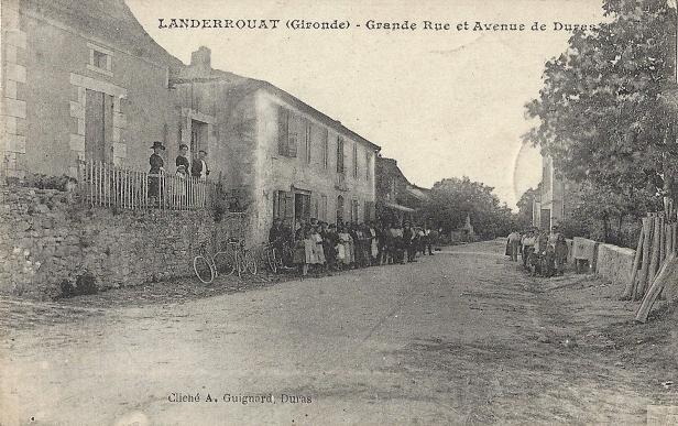 Grande rue et avenue de Duras