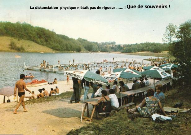 Lac de St Sernin de Duras, animé 1980