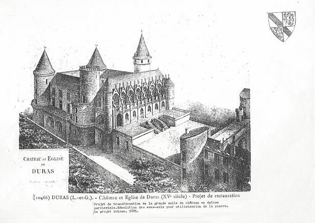 Projet restauration de la salle des maréchaux en église