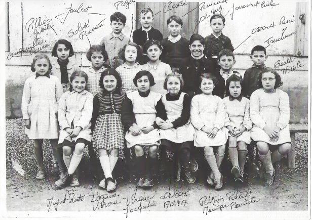 Classe années 50