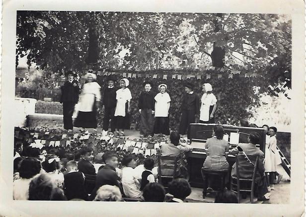 Fête des écoles 1948