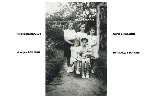 Pellerin Béarnais Blanquiot années 48:49