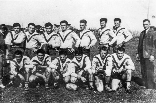 Rugby à 13 au terrain des Boutères